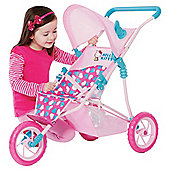 Hello Kitty Sassy 3 Wheel Stroller