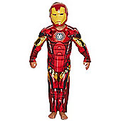 Marvel Avengers Assemble Iron Man Dress-Up Costume years 07 - 08 Red