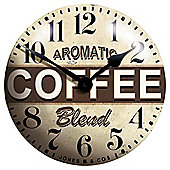 Jones Coffee Clock