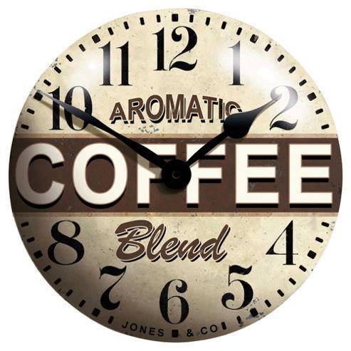 Jones & Co Coffee Clock