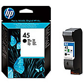 HP No.45 Low Volume Print Cartridge - Black