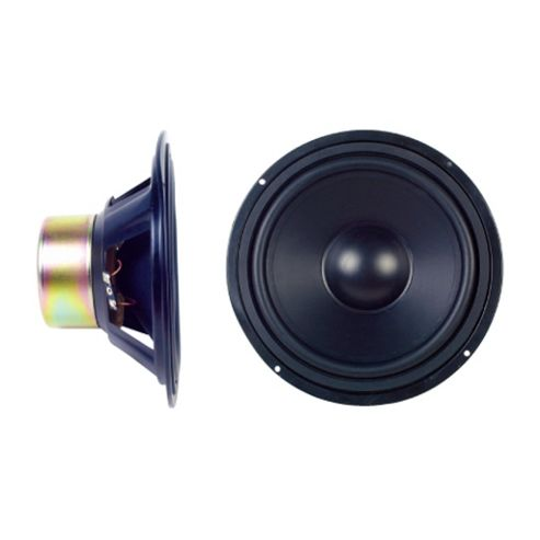 Maplin 8-inch 90 W Shielded Bass/Mid Woofer, Rubber cone suspension , Impedance: 6 Ohm