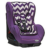 OBaby Group 0-1 Combination Car Seat (ZigZag Purple)