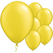 Citrine Yellow Balloons - 11' Pearl Latex Balloon (100pk)