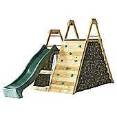 Plum Wooden Climbing Pyramid Play Centre