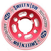 Suregrip Sweet & Low Derby Clear/Pink 58mm Roller Derby Skate Wheels