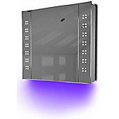 Ambient Audio Bathroom Cabinet With Bluetooth, Shaver Socket & Sensor K19Uaud