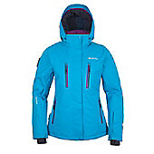 Piste Extreme Womens Ski Jacket - Blue