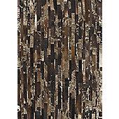 Angelo Star Brown Skin Rug - 200cm x 140cm (6 ft 6.5 in x 4 ft 7 in)