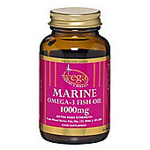 Vega Marine Omega-3 Fish Oil 1000mg 60 Softgels