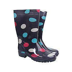 Rain Spot Womens Wellies ( Size: 8 )