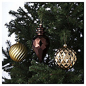 Tesco Giant Baubles, 3 Pack
