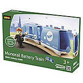 Brio Monorail Battery Wooden Train
