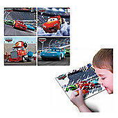 Tomy Aqua Draw Mini Mat Disney Cars Collection 1