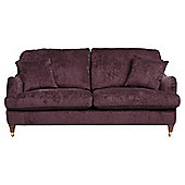 Florence Medium Sofa Velvet Plum
