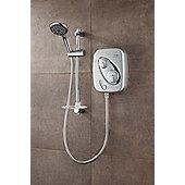 Triton Showers Thermostatic IPS 20.6 cm x 14 cm Power Shower - Satin