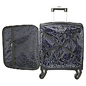 Tesco 4 Wheeled Cabin Case Black