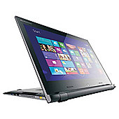 Lenovo Flex 15D 156-inch Touchscreen 2-in-1 Laptop, AMD E1, 4GB Memory, 500GB Storage - Black