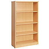 WoodstockLeaBank Fraction Bookcase - Beech - 160cm H x 80 cm W