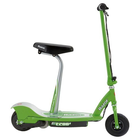 Razor E200S Seated Electric Scooter, Green