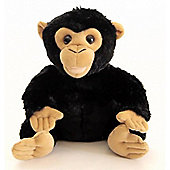Zoocational Press, Play & Learn 'Coco The Chimpanzee' 9 Inch Soft Toys