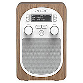 PURE EVOKE D2 DAB/FM PORTABLE RADIO (OAK)