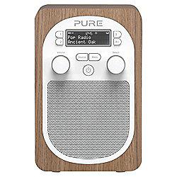 PURE EVOKE D2 DAB/FM PORTABLE RADIO (OAK)