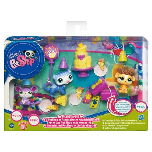 Littlest Pet Shop Themed Playpack Birthday Party
