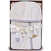 Natures Purest My First Friend - Baby Towelling Bathrobe (0-6 mths)