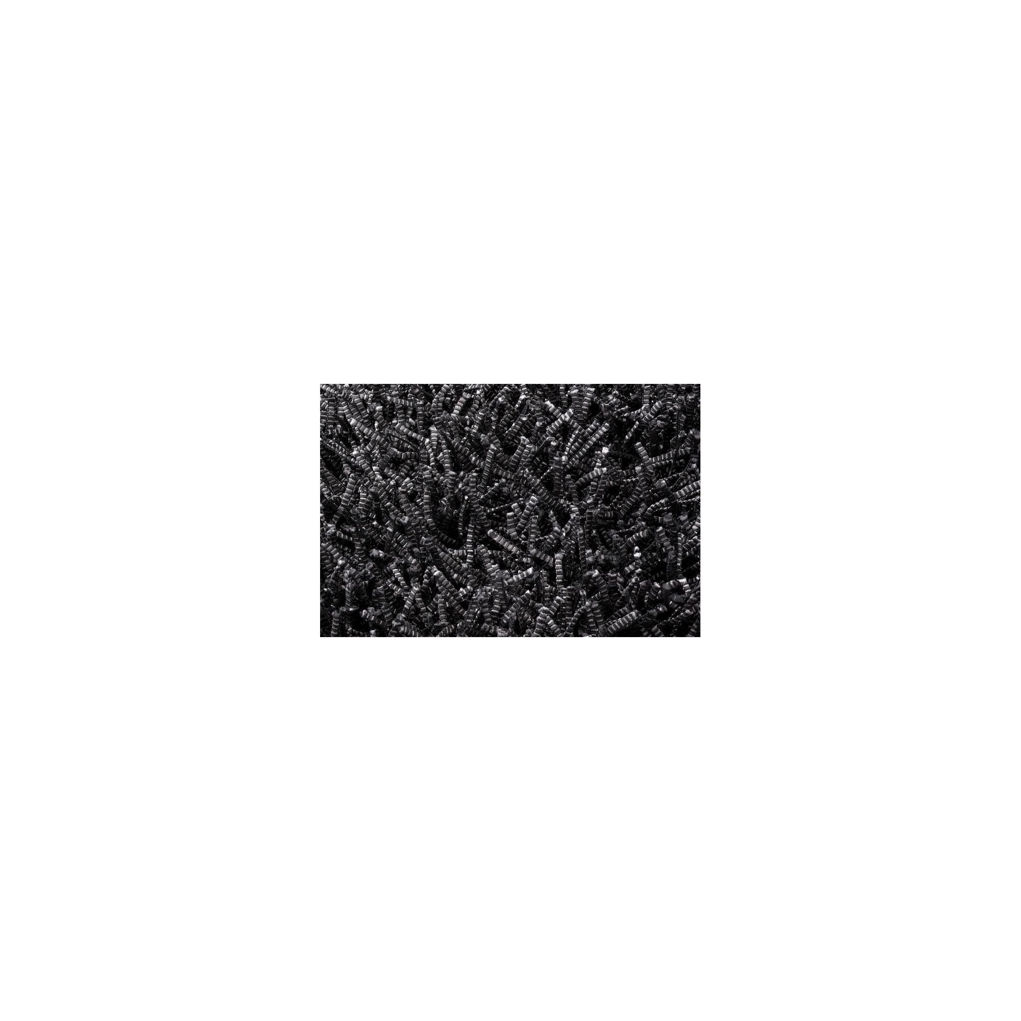 Linie Design Electric Black Shag Rug - 200cm x 140cm at Tescos Direct