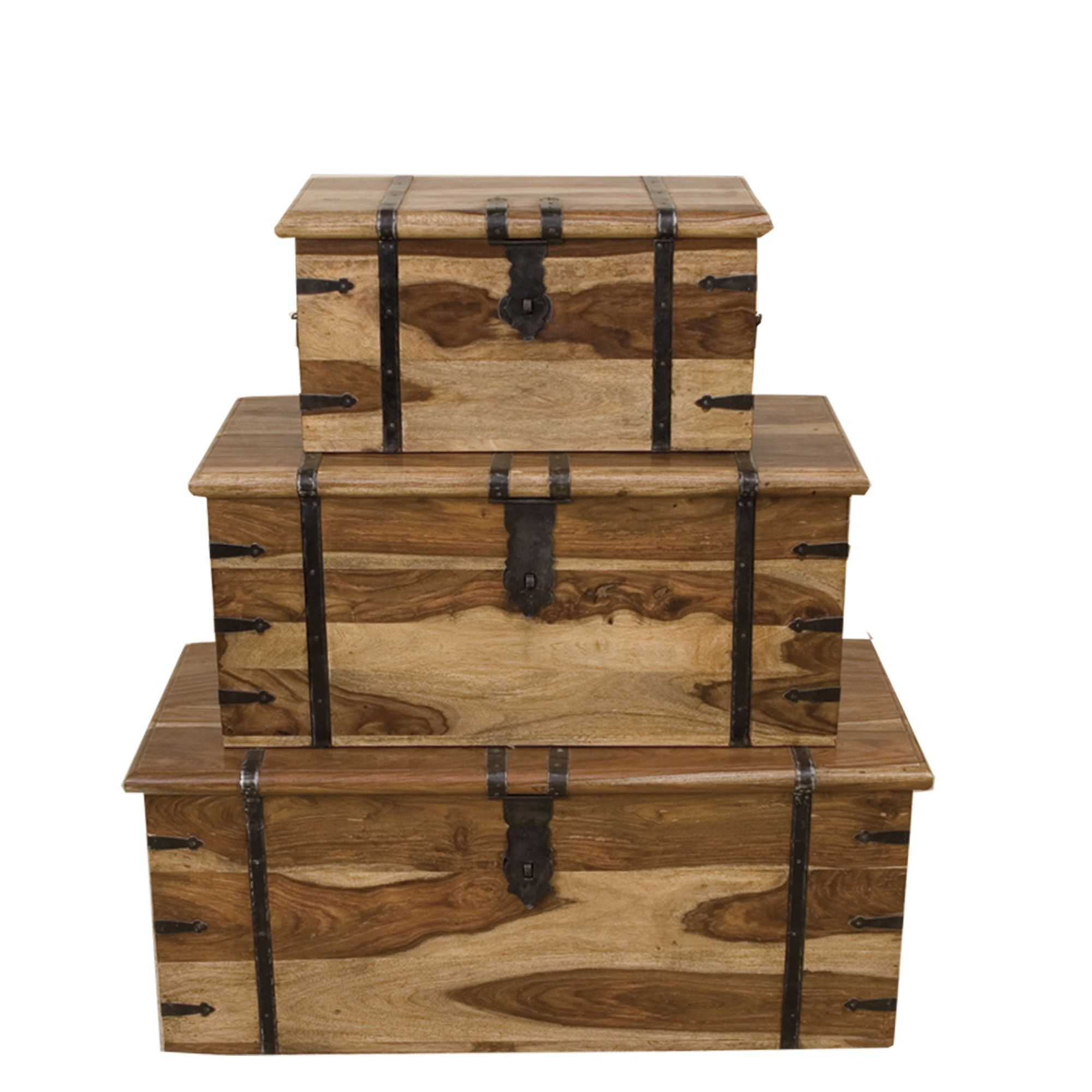 Elements Jaitu Trunk (Set of 3) at Tesco Direct