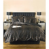 Dreams n Drapes Sierra Black Super King Quilt Cover