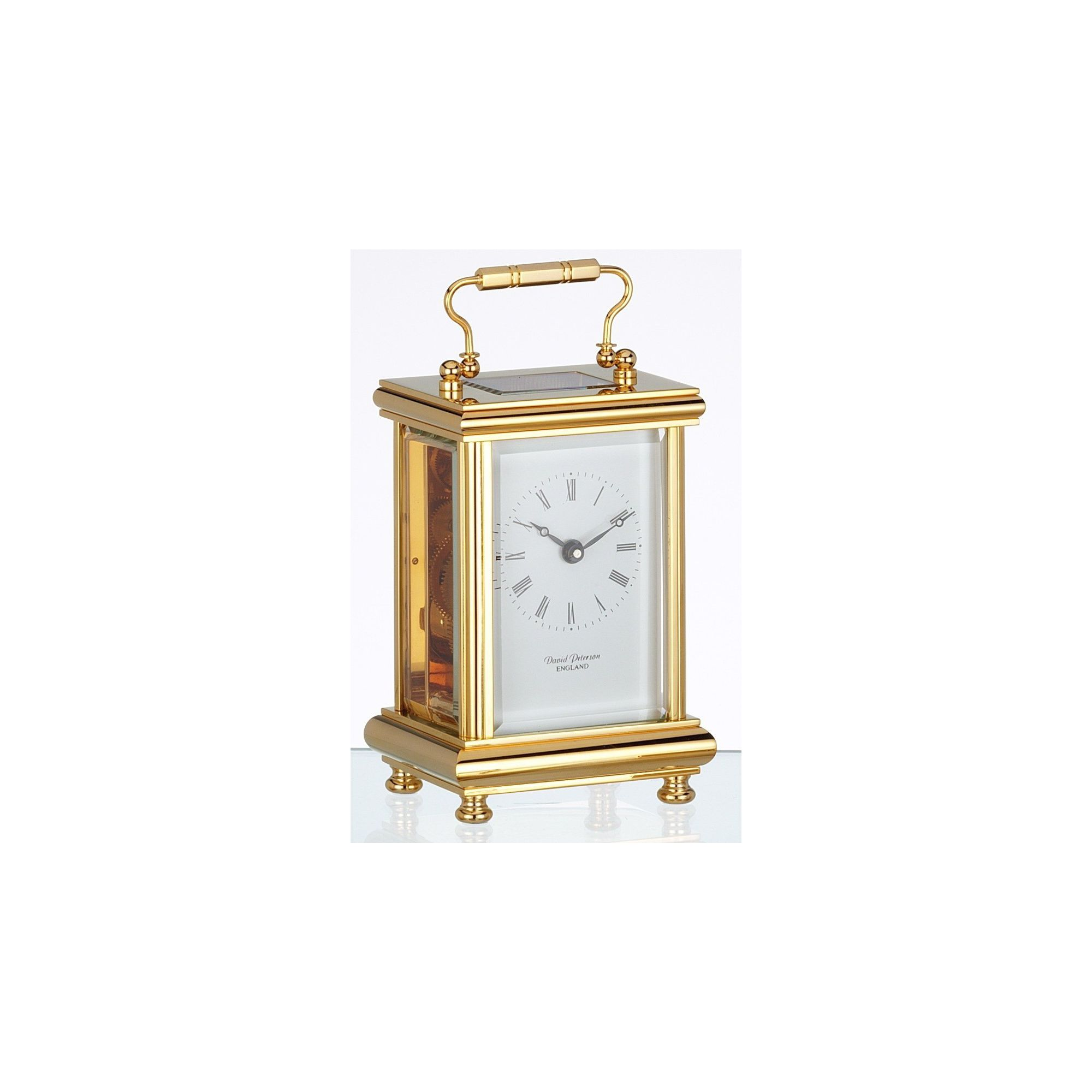 David Peterson Ltd 8 Day Boite Carriage Clock at Tesco Direct
