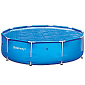 Bestway 10ft Steel Pro Frame Pool Solar Cover