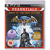 Batman Arkham Asy Goty Essent (PS3 )