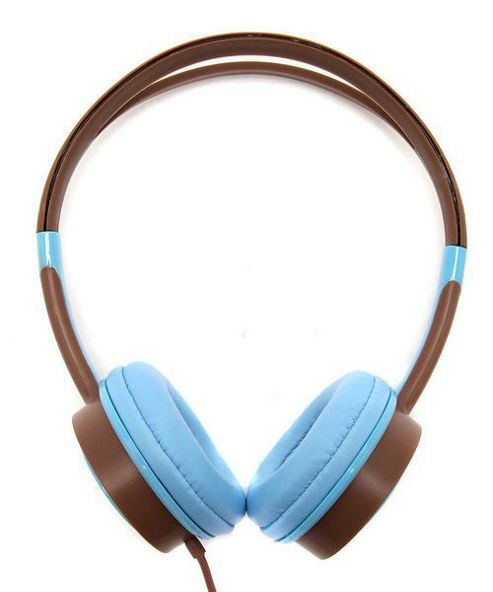 Urbanz Vibe Light-Weight Headphones - Blue