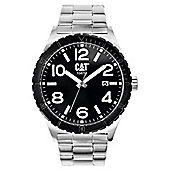 CAT Mens Stainless Steel Date Watch NI.241.11.131