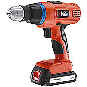 Black & Decker Combi drill 10mm keyless chuck 18v EGBL188K