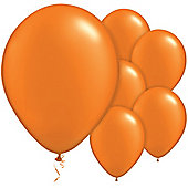 Mandarin Balloons - 11' Pearl Latex Balloon (100pk)