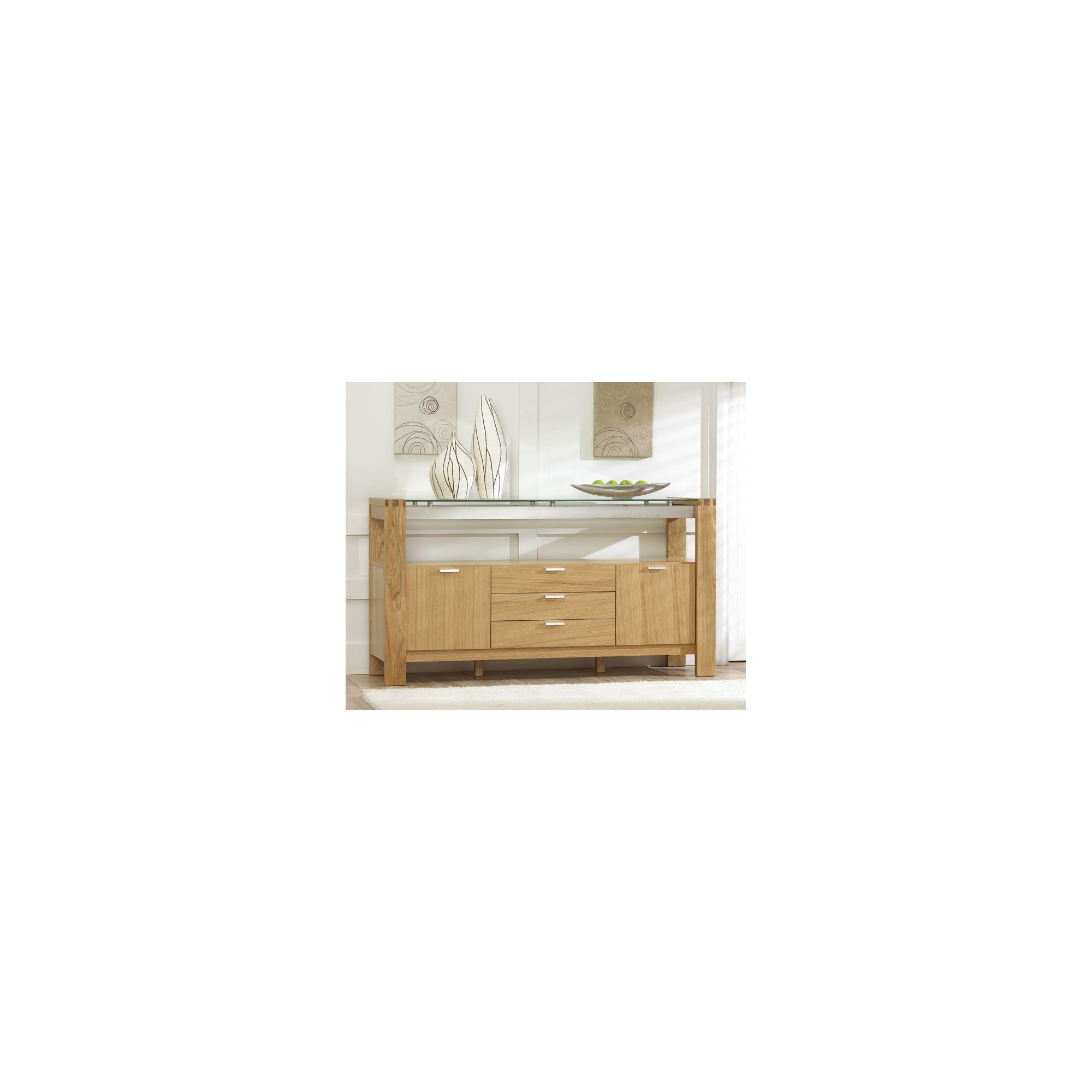 Mark Harris Furniture Roma Sideboard - Oak at Tesco Direct