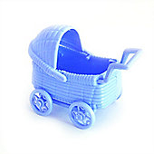 Baby Shower Baby Carriage Blue (2pk)