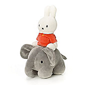 Miffy and Elephant Soft Toy - 23cm