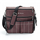Bebemon Urban XL Baby Changing Bag - Dark Chocolate