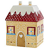 T'was the Night Before Christmas Gingerbread House Storage Jar