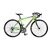56cm Viking Milano 14 Speed 700c Wheel Gents, Green/Black