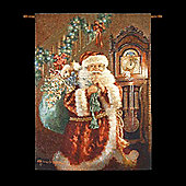 Dona Gelsinger 'Night Before Christmas' Illuminated Hanging Tapestry