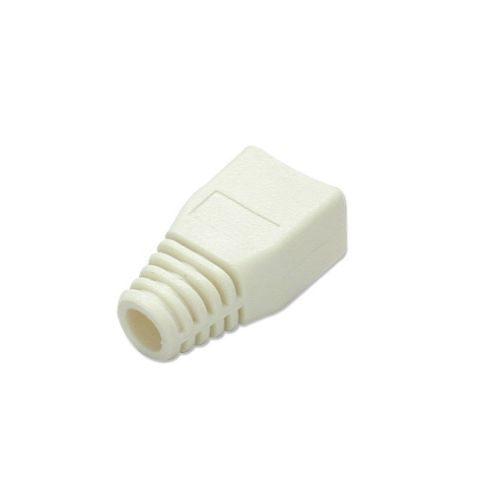 LINDY Pre-assembly RJ-45 Strain Relief Boot Beige (10 per pack)