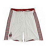 2014-15 AC Milan Adidas Home Shorts - White