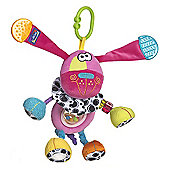 Playgro Zany Zoo Activity Doofy Dog - Pink