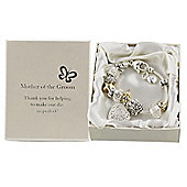 Mother of the Groom Charm Bracelet